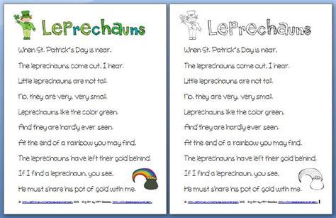 poem from a leprechaun shamrock acrostic poem poem them i 179 imagine inspire innovate st patrick s day fun