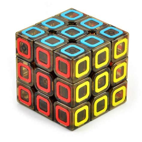 pattern of magic cube 3 3 3 colorful ring pattern brain challenge magic cube