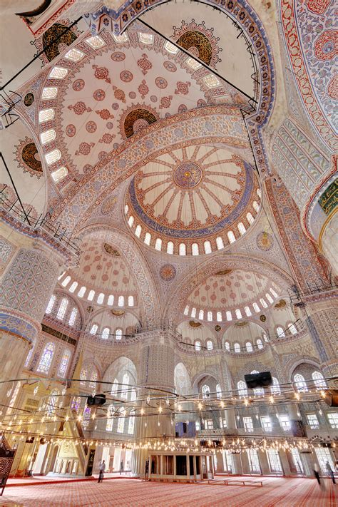 Blue Mosque Interior Photos by The Blue Mosque Turkey Pics