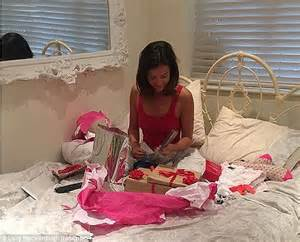 bedroom surprises for your girlfriend ex towie star lucy mecklenburgh kisses boyfriend louis