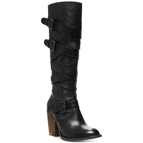 Steve Madden Shoes W by Steve Madden Womens Renegaid Shaft Boots In Black Lyst
