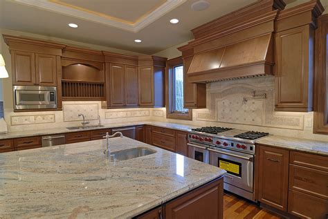 Kitchen Cabinet Surfaces Kitchen Foothill Ranch Kitchen Granite Countertops With Solid Wood Cabinet Set Kitchen Remodel