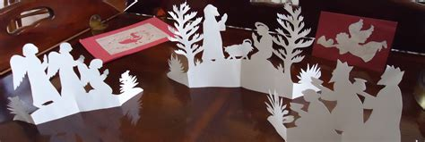 paper cut out christmas ornaments christmas decore
