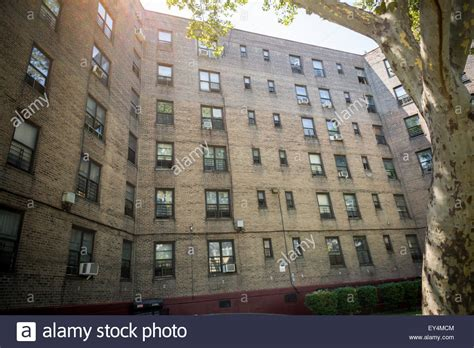 buy house in queens ny the queensbridge south houses in queens in new york on thursday july stock photo