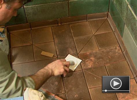 how to install bathroom floor tile how to install a tileable shower base buildipedia