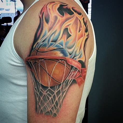 basketball tattoo design basketball tattoos designs ideas and meaning tattoos