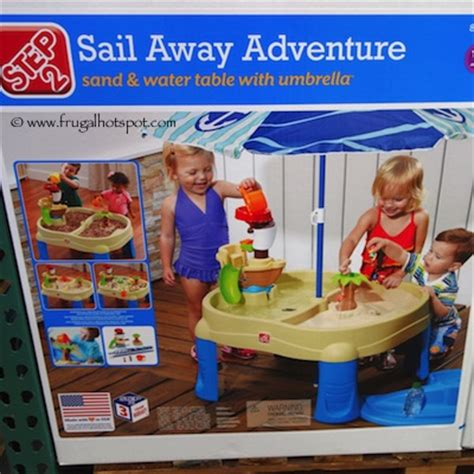 sand and water table costco costco deal 2 sail away adventure sand water table