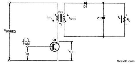 flyback diode frequency transformer tny263 power supply electrical engineering stack exchange