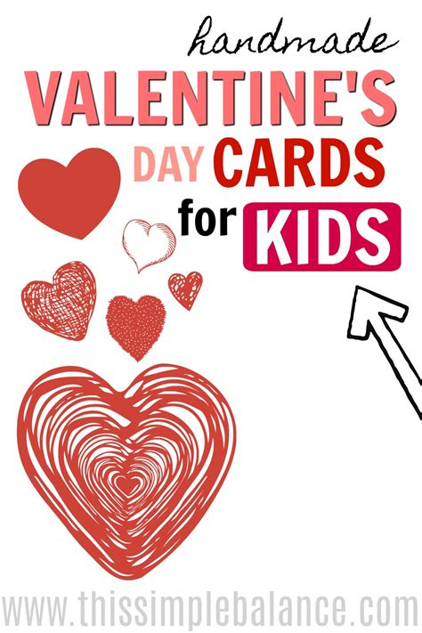 Handmade Cards For Valentines Day - s day handmade cards for this simple