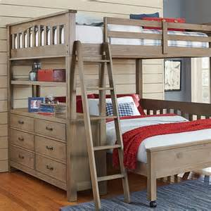highlands loft bed full box a
