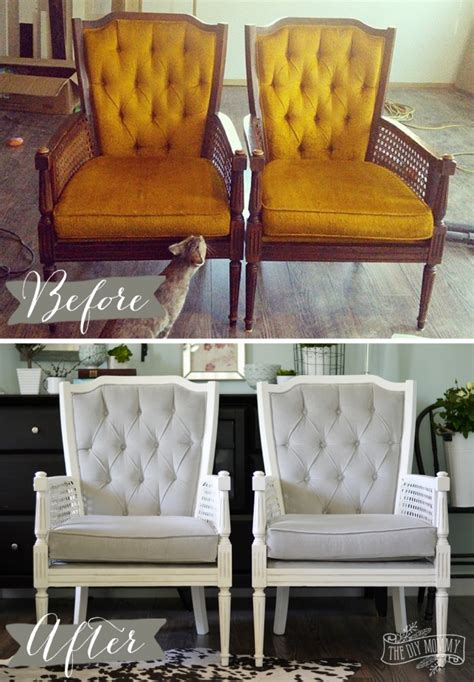 chair repair upholstery makeover a vintage cane chair pair makeover in grey velvet the