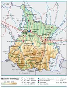 Infos sur : hautes pyrenees carte Arts et Voyages