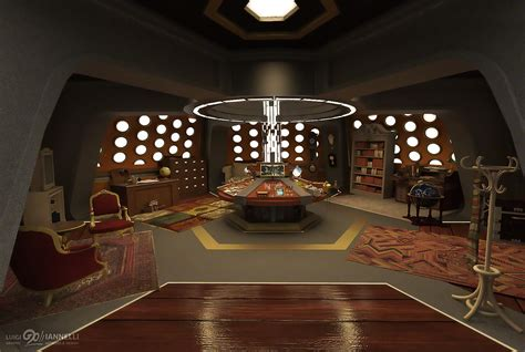 design a tardis console room the divergent universe