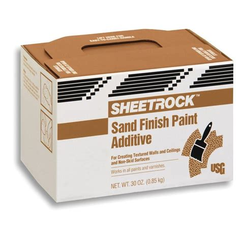sheetrock brand 30 oz sand finish paint additive
