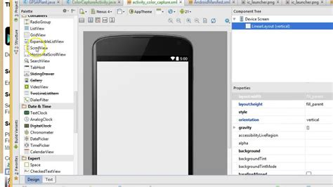 android studio linearlayout gridview imageview nested linearlayout in android studio