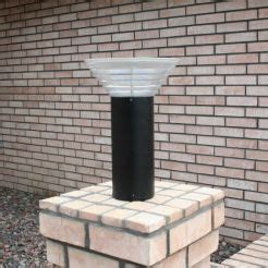 modern solar l post home yardbright landscape lighting garden path and