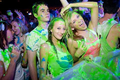 dayglow paint party dayglow paint party at the pageant photos music blog