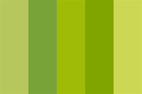 spring colors palette green spring color palette