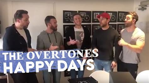 theme song happy days happy days theme song acapella cover by the overtones