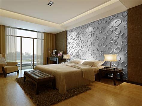 3d wandpaneele schlafzimmer 40 coole ideen f 252 r effektvolle schlafzimmer wandgestaltung