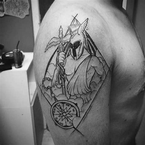 hermes tattoo 30 hermes designs for winged god ink ideas