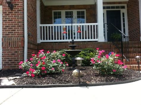 small front yard flower beds front flower bed yard flowers outdoors