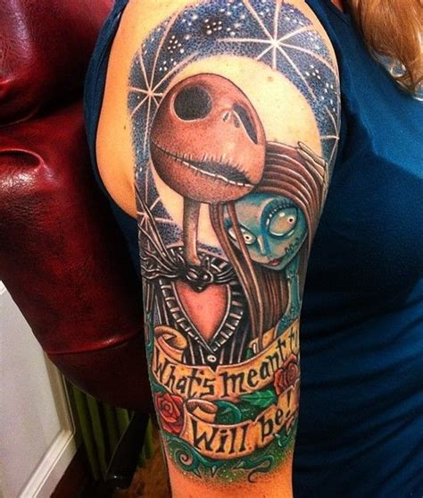 the night before christmas tattoo designs 40 cool nightmare before tattoos designs