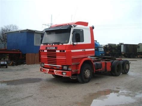 scania r 143 6x2 400 hk tractor unit from denmark for sale