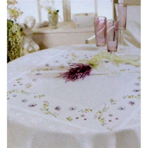 disegni punto croce per tovaglie da tavola tovaglia da ricamare incanto di farfalle 87x87cm