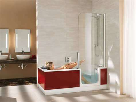 dusch badewannen kombination badezimmer