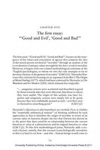 Versus Evil Essay by 5 The Essay And Evil And Bad