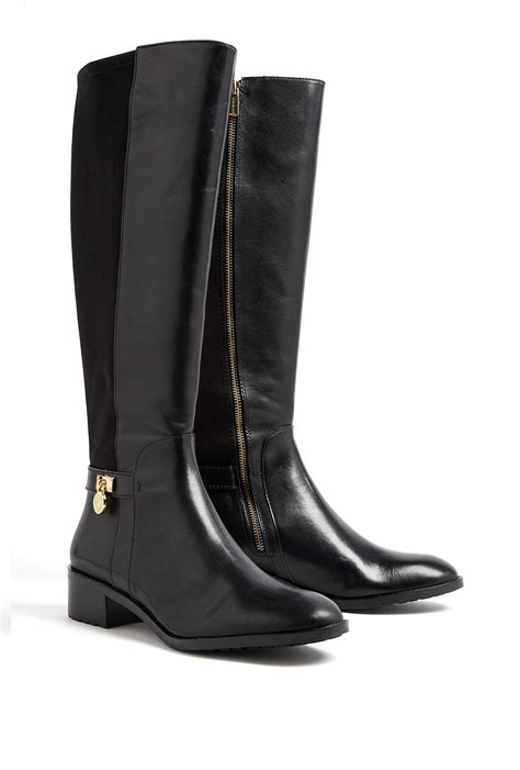 michael kors boots michael michael kors hamilton stretch knee high boots in
