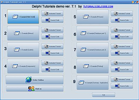 delphi software tutorial free download source code delphi chess game