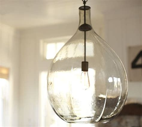 Houzz Kitchen Pendant Lighting Clift Glass Pendant Contemporary Pendant Lighting By Pottery Barn