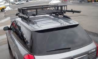Subaru Cargo Rack Subaru Outback Wagon Rack Installation Photos