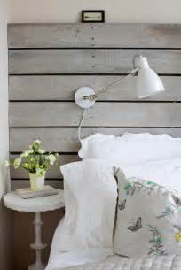 White Wooden Slatted Headboard by Reclaimed Wood Accent Wall Design Decor Photos Pictures Ideas Inspiration Paint Colors