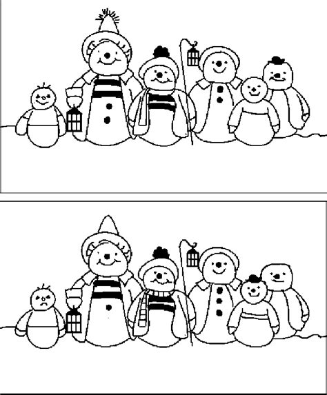 printable christmas spot the difference games 5 spot the difference christmas pictures for children