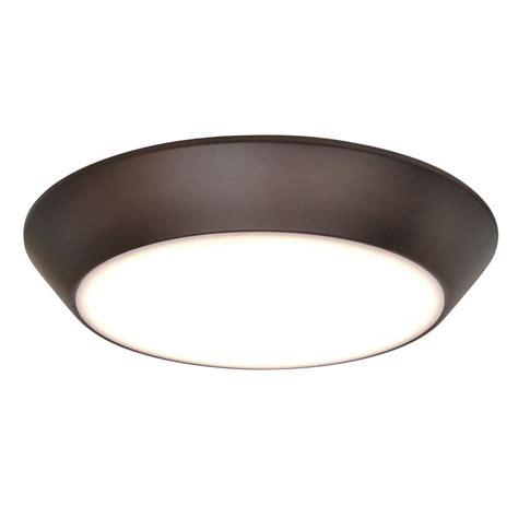 bronze flush mount light maxim lighting convert led 1 light bronze flushmount