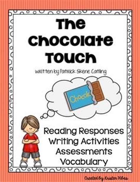 chocolate touch worksheets 17 best novel studies books images on books guided reading and book