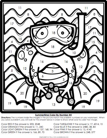 educational coloring pages 5th grade multiplication coloring sheets for 4th grade related