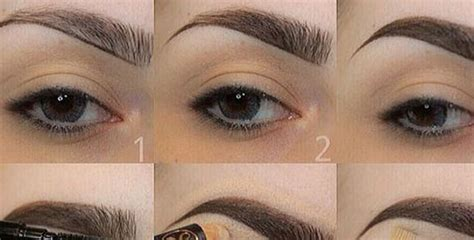 natural eyebrow makeup tutorial for beginners natural eyebrows makeup tutorial makeup daily