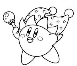 kirby coloring pages jester kirby coloring page coloring therapy