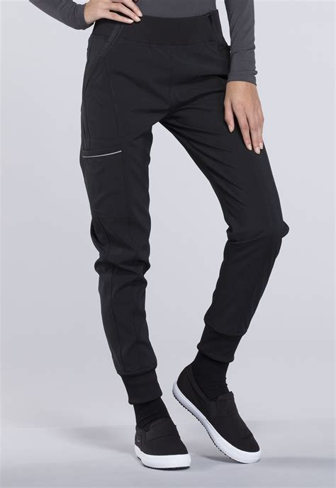 Celana Wanita Jogger Black Size 27 30 infinity by mid rise tapered leg jogger pant ck110a baps from dubs scrubs riverdale
