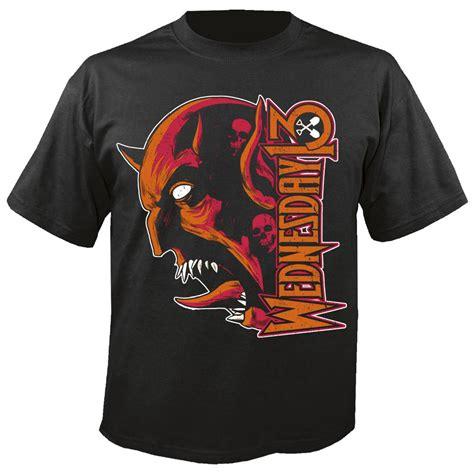 Kaos Panic At The Disco Tshirt Gildan Softstyle Za 29 blabbermouth wednesday 13 t shirt