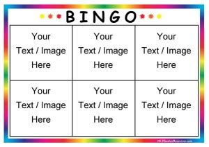 6 x 6 bingo card template editable bingo board template 6 page 1 k 3 resources