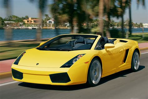 best cheap supercar lamborghini gallardo spyder supercar best cheap
