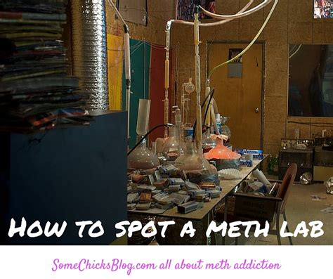 meth lab how to spot a meth lab