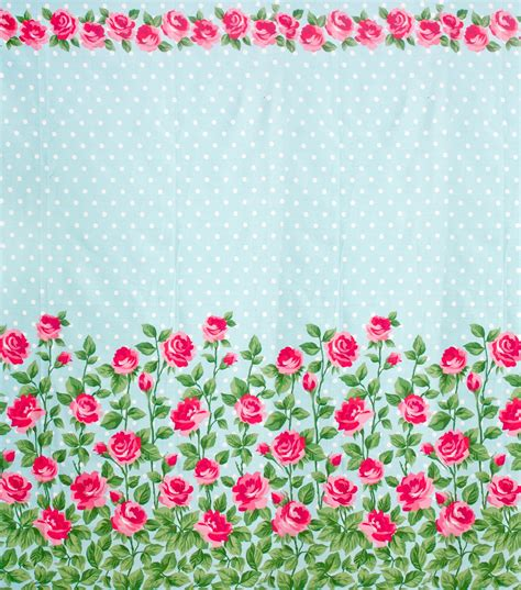 vv printable fabric gertie s new blog for better sewing aqua rose border