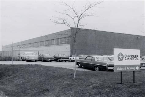 Chrysler Plant by Chrysler Trim Plant Ajax Library Digital Archive