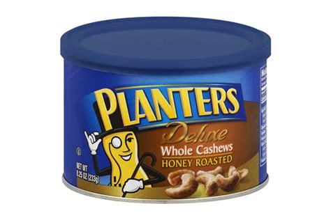 planters honey roasted cashews planters deluxe honey roasted whole cashews 8 25 oz